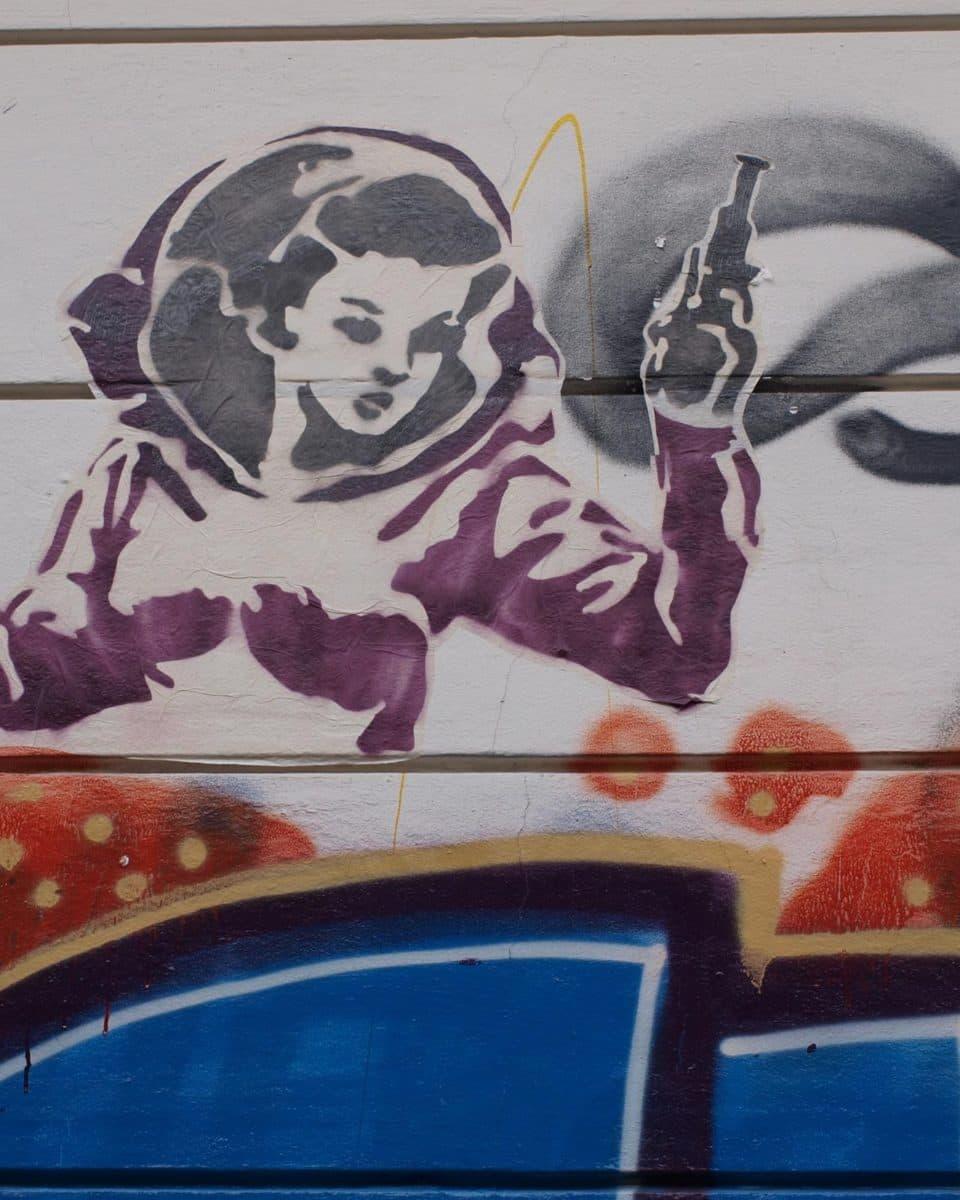 Führung zu Graffiti und Streetart in Bremen
