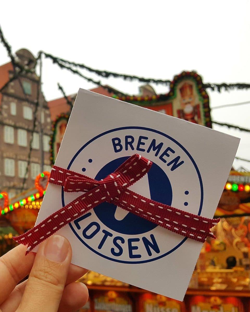 Gutschein für eine Stdatführung durch Bremen