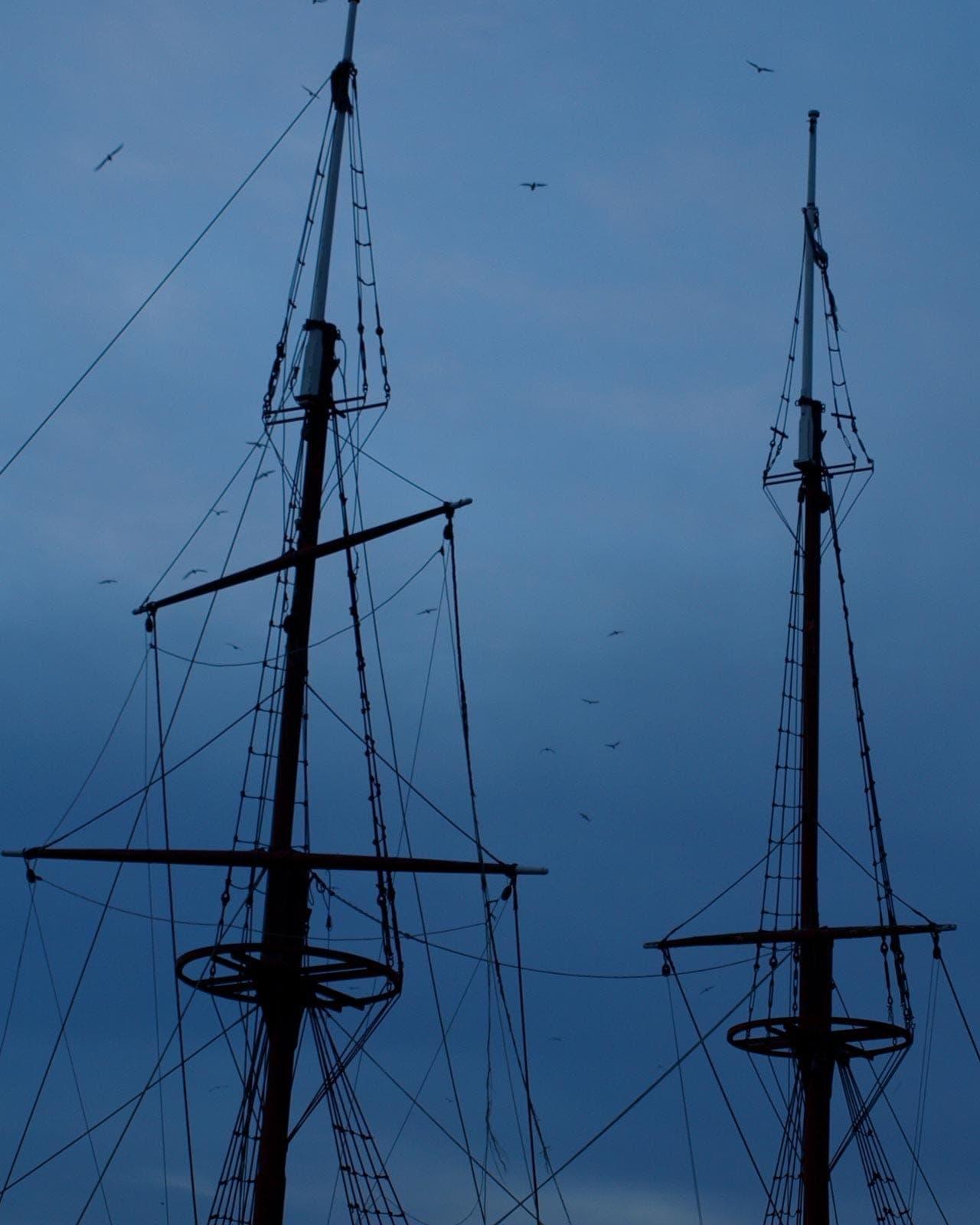 Bremer Schauergeschichten: Geisterschiffe an der Schlachte