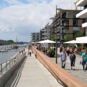 Überseestadt Bremen: Führung durchs neue Quartier