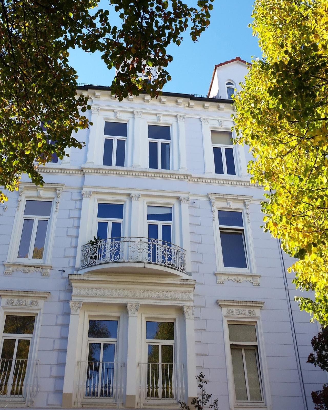 Gründerzeithäuser und elegante Seitenstraßen - das Viertel in Bremen