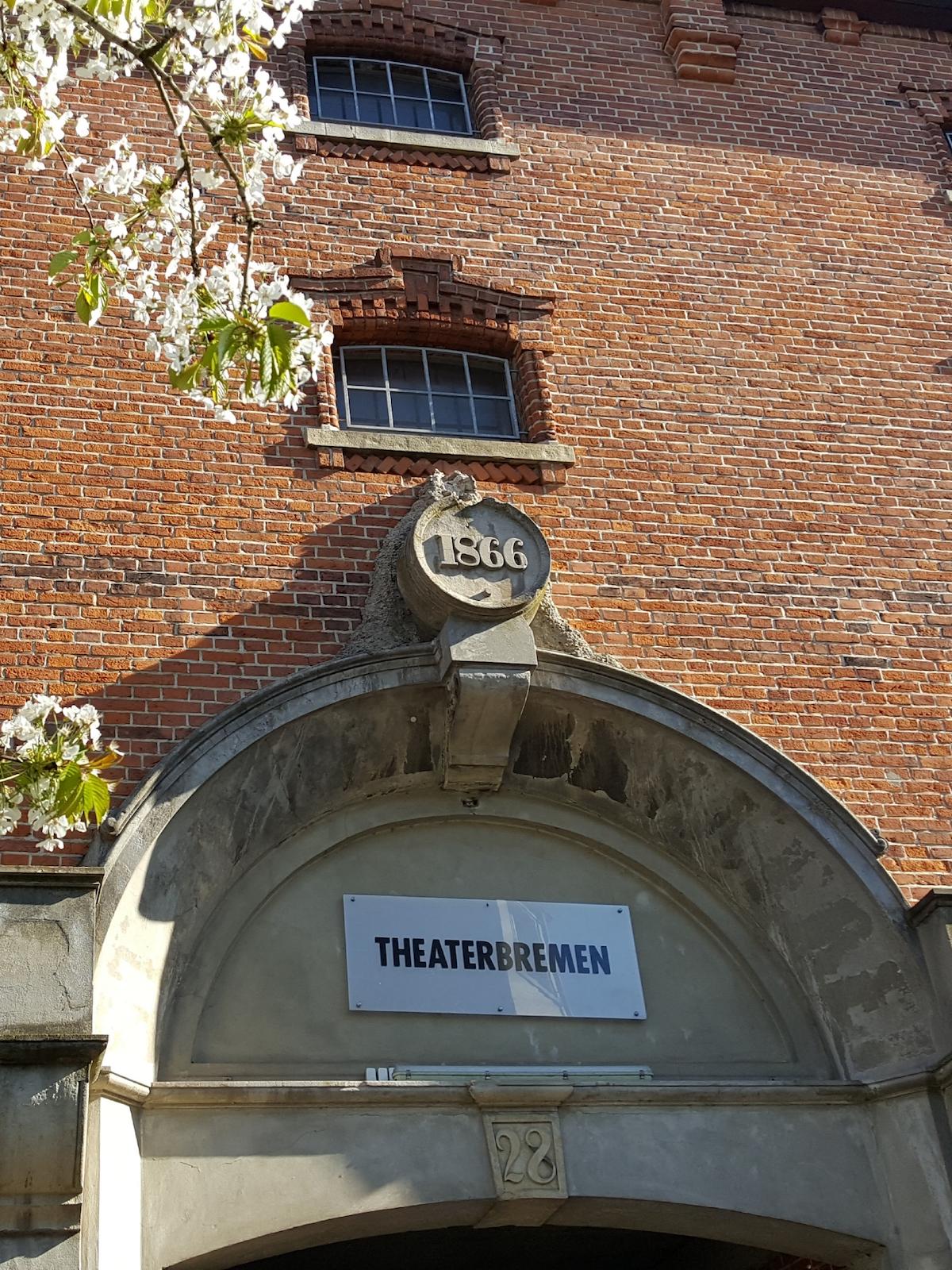 Fassade der ehemaligen St.Pauli-Brauerei in Bremen