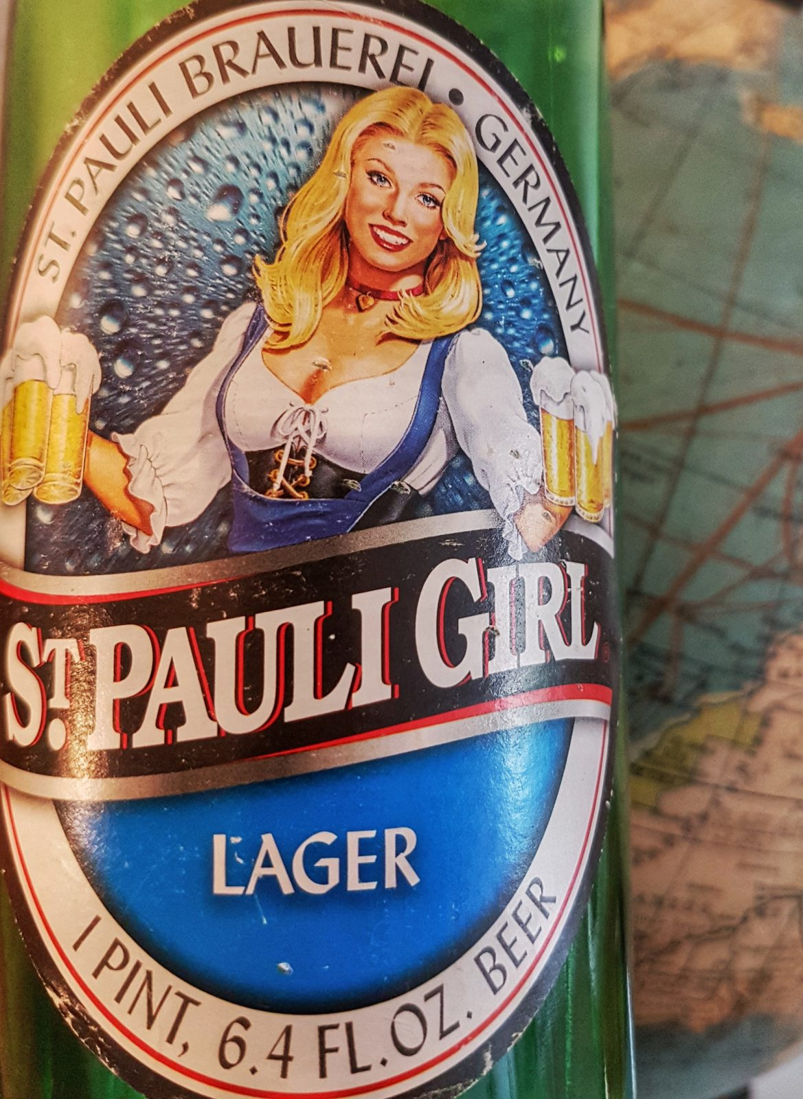 Flaschenbier St.Pauli-Girl