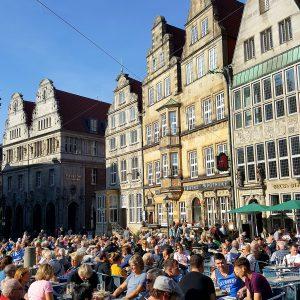 Der Bremer Marktplatz – lebendiges Zentrum der Hansestadt