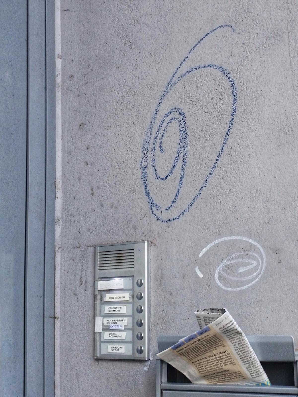 Graffiti in Bremen: Kringel für OZ