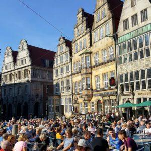 Essen und Trinken im Herzen Bremens – Cafés und Restaurants am Marktplatz