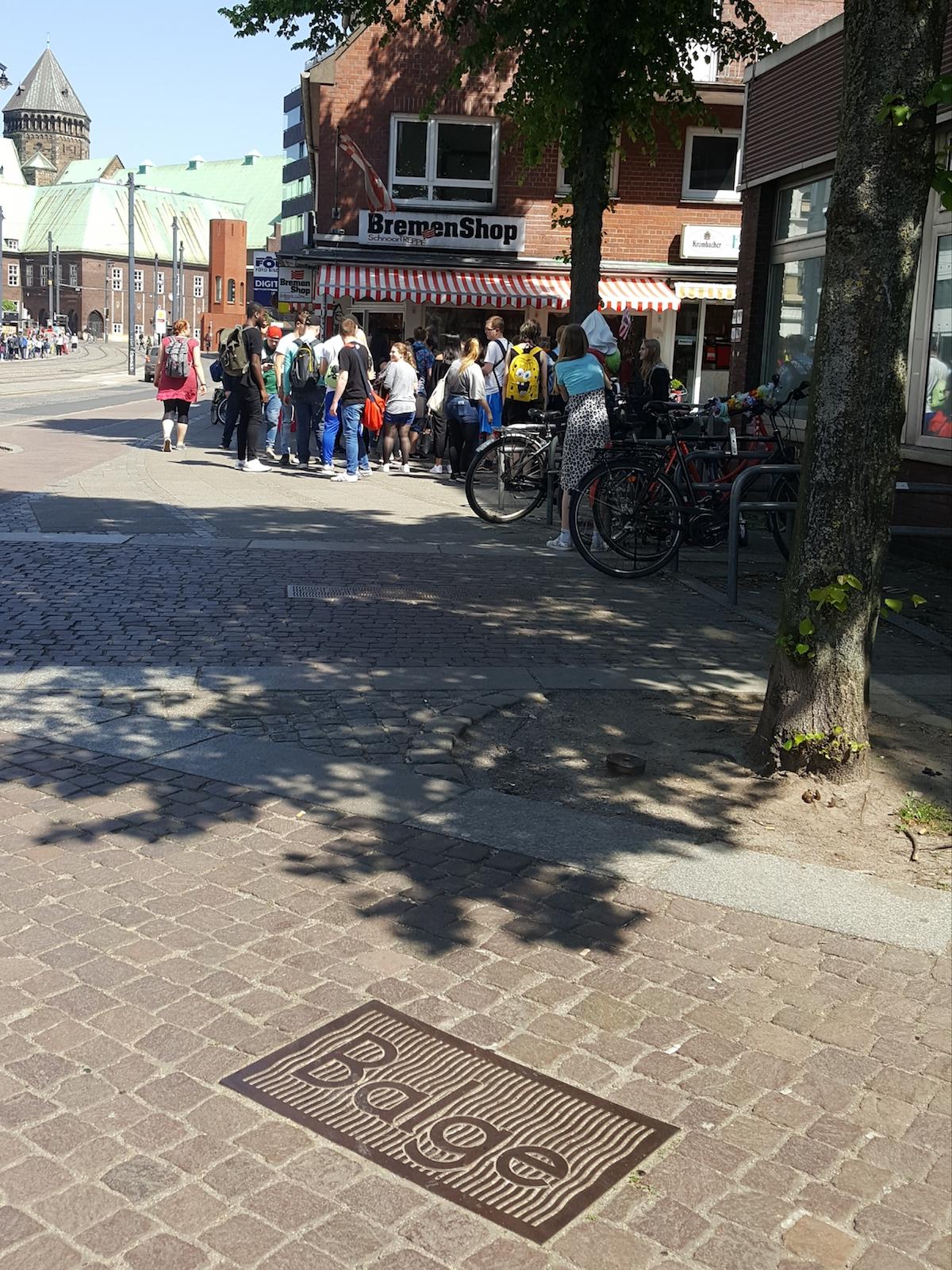 Der Verlauf der Balge in Bremen